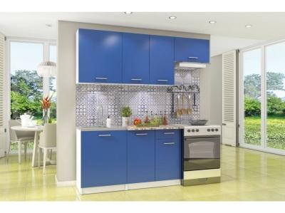Кухонный гарнитур Бланка синий