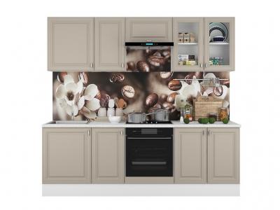 Кухонный гарнитур Ева 2400 Мокко