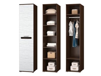 Шкаф для платья и белья в спальню Мишель