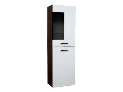 Шкаф напольный со стеклом модуль-3 Грация правый