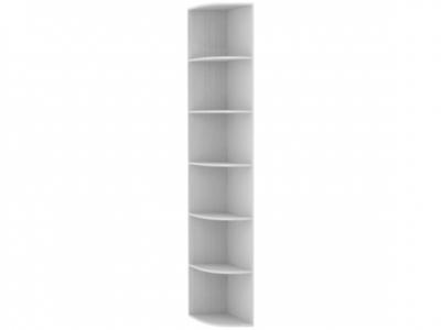 Угловой сегмент для шкафа-купе белый