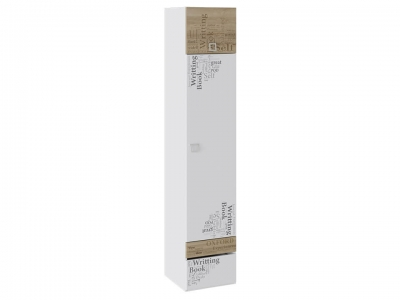 Шкаф для белья Оксфорд ТД-139.07.21 Ривьера, Белый с рисунком